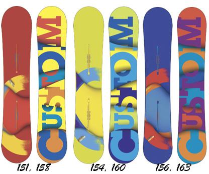 Сноуборд Burton 2012-13 Custom