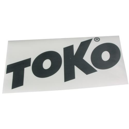 Наклейка Toko Toko Letter Sticker Black от КАНТ