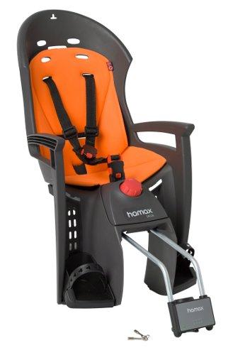 Детское Кресло Hamax 2018 Siesta W/lockable Bracket Серый / Оранжевый Вкладыш
