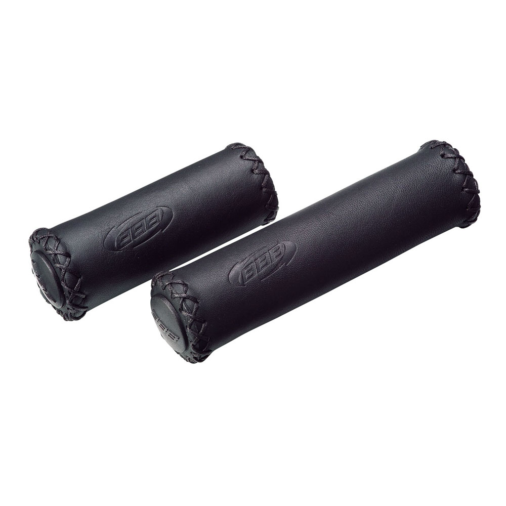 Купить Грипсы Bbb Trekking Exclusive Leather Grips 128 Mm Черный, унисекс, Рулевое управление