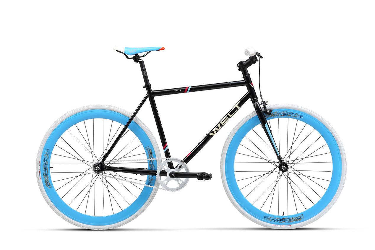 Велосипед Welt Fixie 1.0 2017 Glossy Black