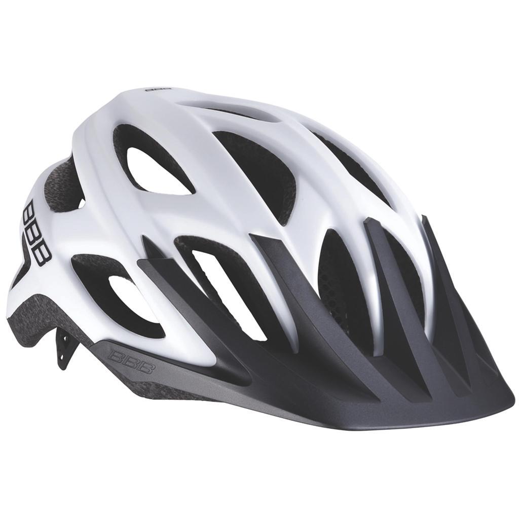 Купить Велошлем BBB 2018 Varallo белый матовый, Шлемы велосипедные, 1151192