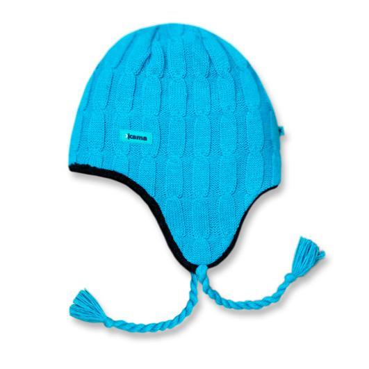 Купить Шапка Kama A69 (cyan) бирюзовый Головные уборы, шарфы 866382