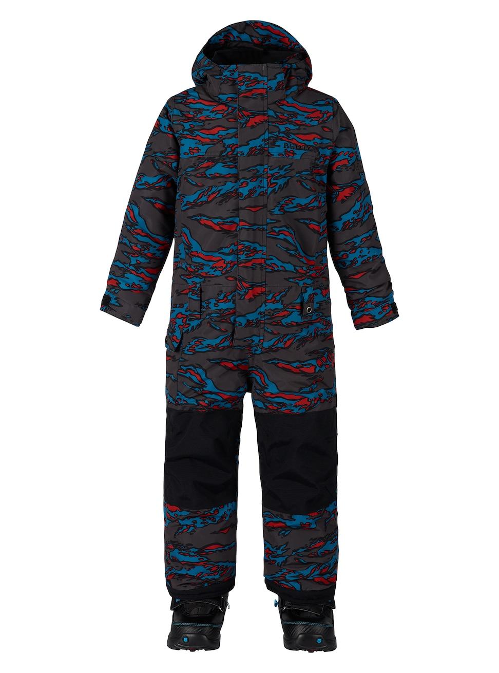 Купить Комбинезон сноубордический BURTON 2017-18 BOYS MS STRIKER OP BITTERS BEAST CAMO, Детская одежда, 1354948