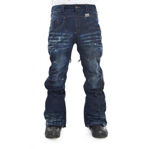 Купить Брюки сноубордические I FOUND 2014-15 ROCKSTAR PANTS - REGULAR FIT DARK BLUE/BLEU FONCE Одежда сноубордическая 1140730