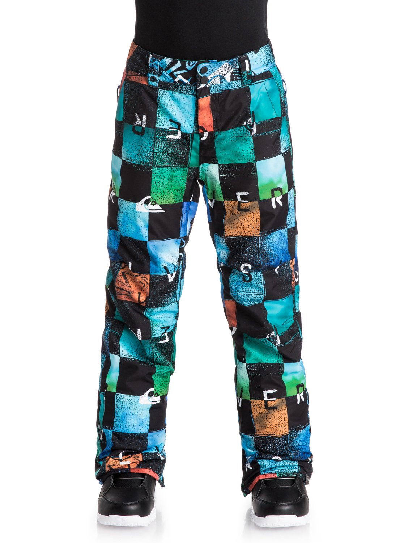 Купить Брюки сноубордические Quiksilver 2016-17 Estate Yth Pant B SNPT BYB8, Детская одежда, 1279582