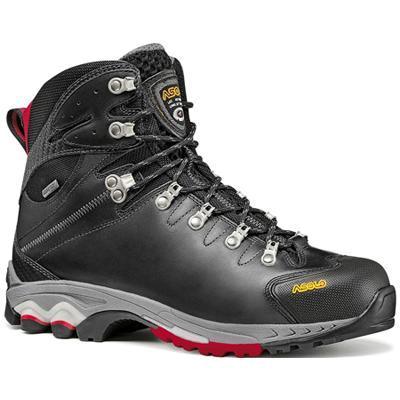Купить Ботинки для треккинга (высокие) Asolo Power Lite Ergo GTX MM Black-Red Треккинговая обувь 757858