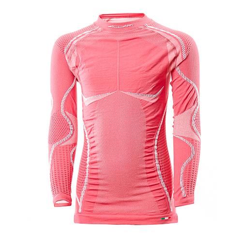Купить Ergoracing Junior Ergoracing Long Sl.t-Shirt Jr, Футболка С Дл. Рукавом Accapi 2017-18 Ergoracing Long Sl.t-Shirt Jr Deep Pink, унисекс, Термобелье