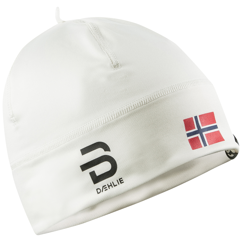 женская шапка bjorn daehlie, белая