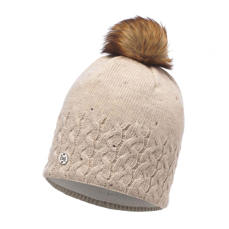 Шапка Buff Knitted & Polar Hat Elie Beige