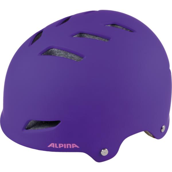 Велошлем Alpina 2018 Alpina Park Jr. Purple