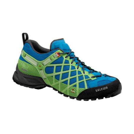 Треккинговые кроссовки Salewa Tech Approach Men's MS WILD FIRE davos - emerald