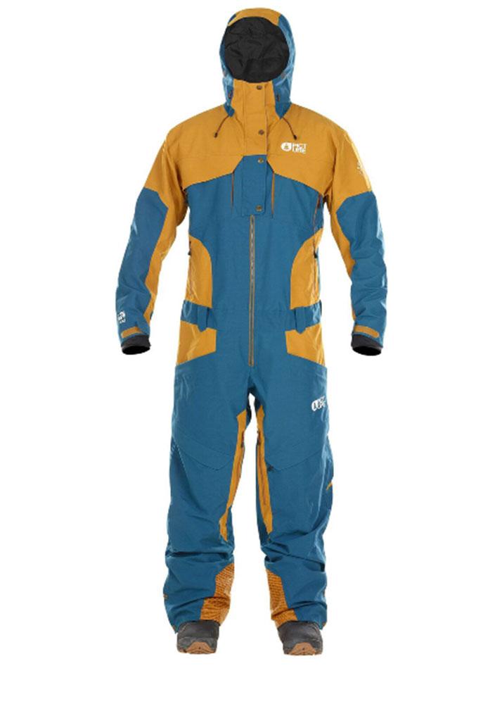 Купить Комбинезон сноубордический Picture Organic 2017-18 XPLORE SUIT B PetrolBlue, Одежда сноубордическая, 1354687