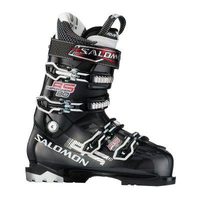 Купить Горнолыжные ботинки SALOMON 2012-13 RS 80 GREY TRANSLUCENT/Black, Ботинки горнoлыжные, 814242