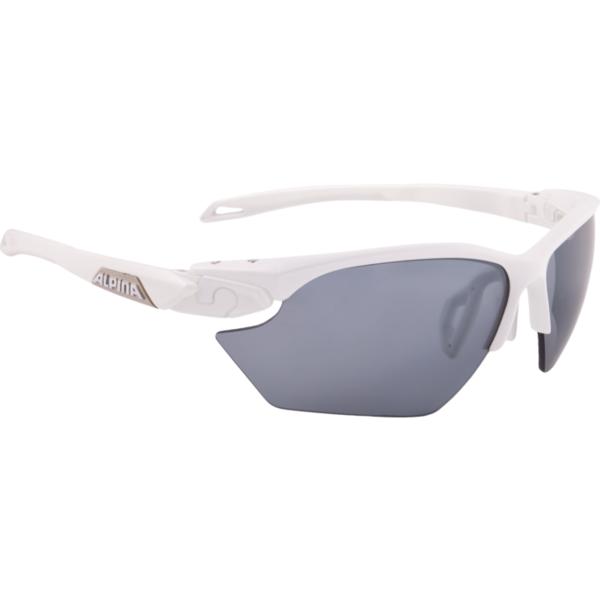 Купить Очки солнцезащитные Alpina 2018 TWIST FIVE HR S CM+ white matt-silver 1398833