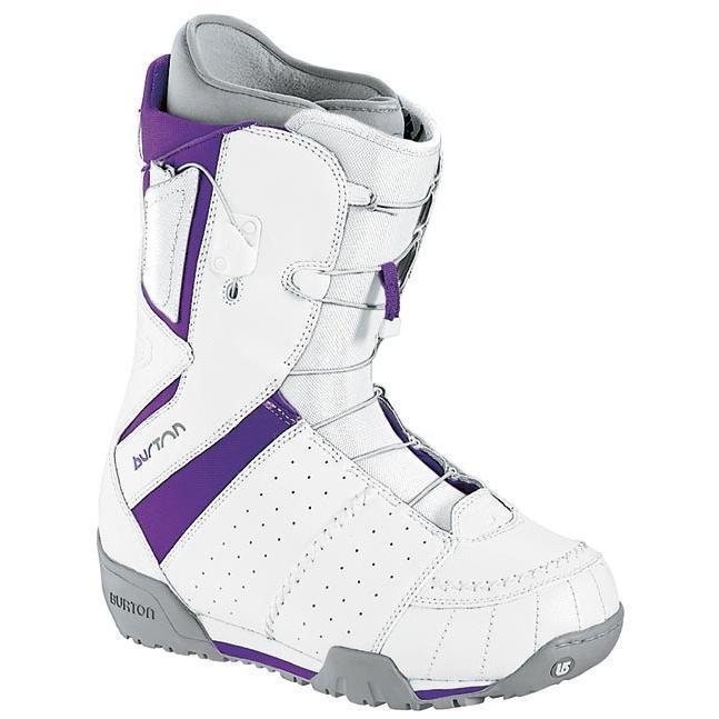 Купить Ботинки для сноуборда BURTON 2007-08 Ruler Mns White/Purple, сноуборда, 397192