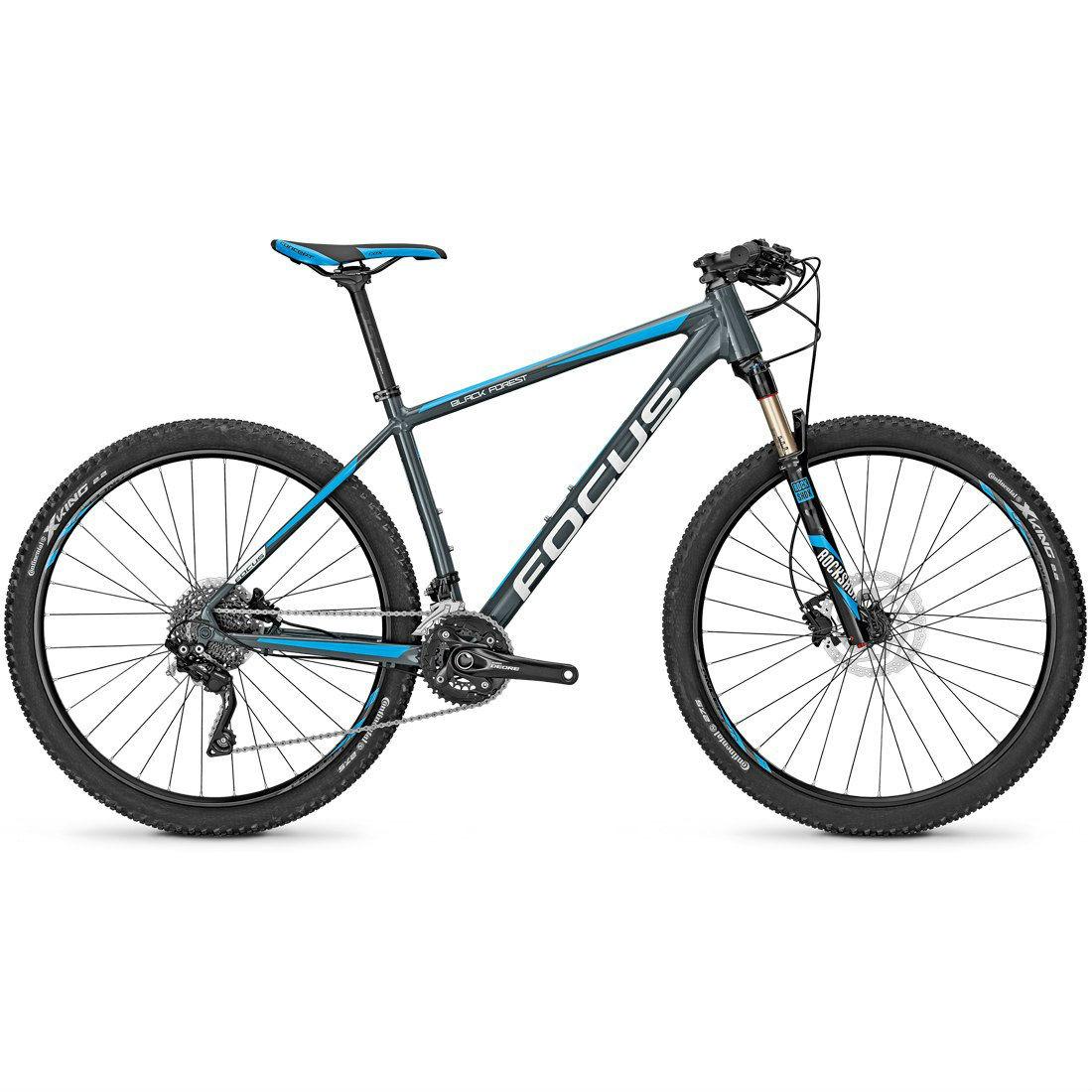 Велосипед Focus Black Forest Pro 27 2016 Slategrey