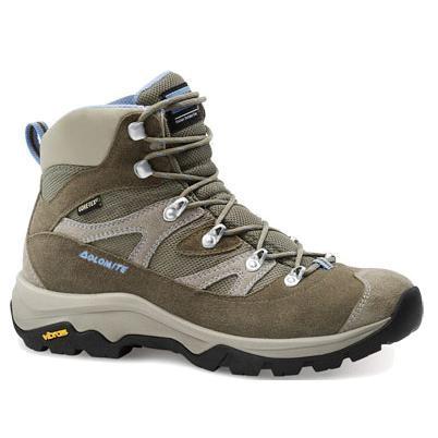 Купить Ботинки для треккинга (высокие) Dolomite 2014 Hiking KITE SU W.GTX BROWN-LIGHT BLUE, Треккинговая обувь, 1015524