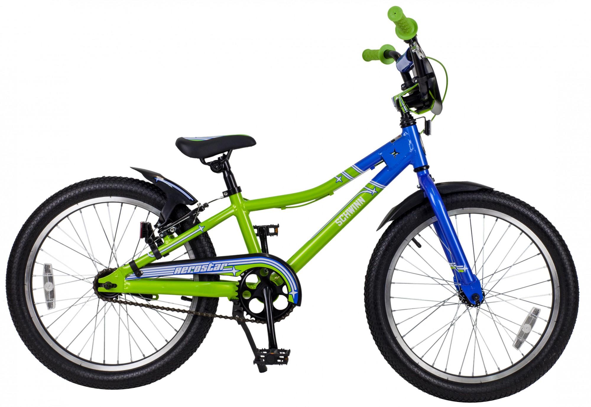 Купить Велосипед SCHWINN AEROSTAR 2015 lime-blue, 6-9 лет (колеса 20 ), 1174248