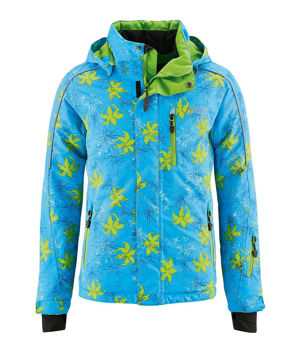куртка maier для девочки, синяя