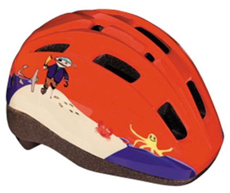 Купить Летний шлем BBB MiniPirate red Шлемы велосипедные 713313