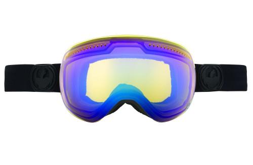 Купить Очки горнолыжные DRAGON 2014-15 APX KnghtRder/YllwBlu+Rs+Ecl, горнолыжные, 1134825