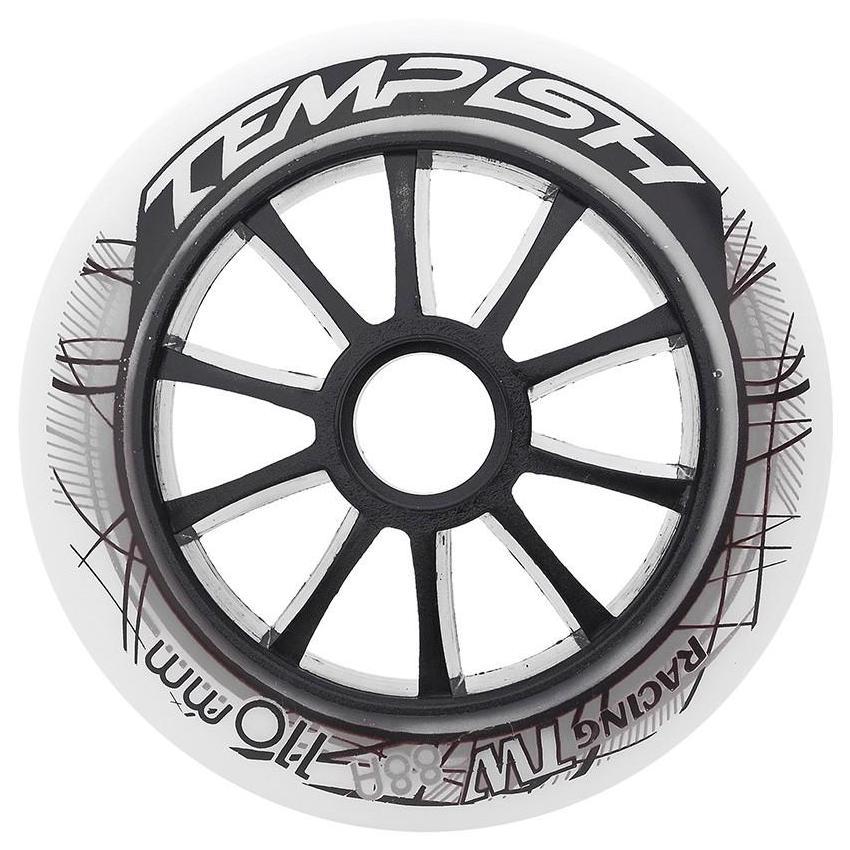 Купить Комплект колёс для роликов TEMPISH 2018 TW 100x24mm 90A white, Аксессуары роликов, 1409130