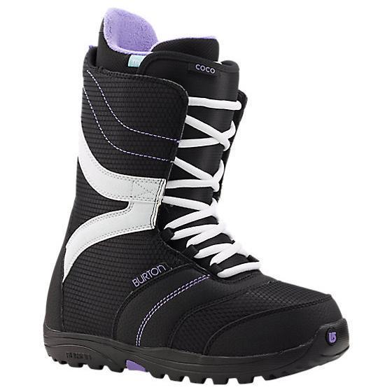 Купить Ботинки для сноуборда BURTON 2014-15 COCO BLACK/PURPLE, сноуборда, 1134433