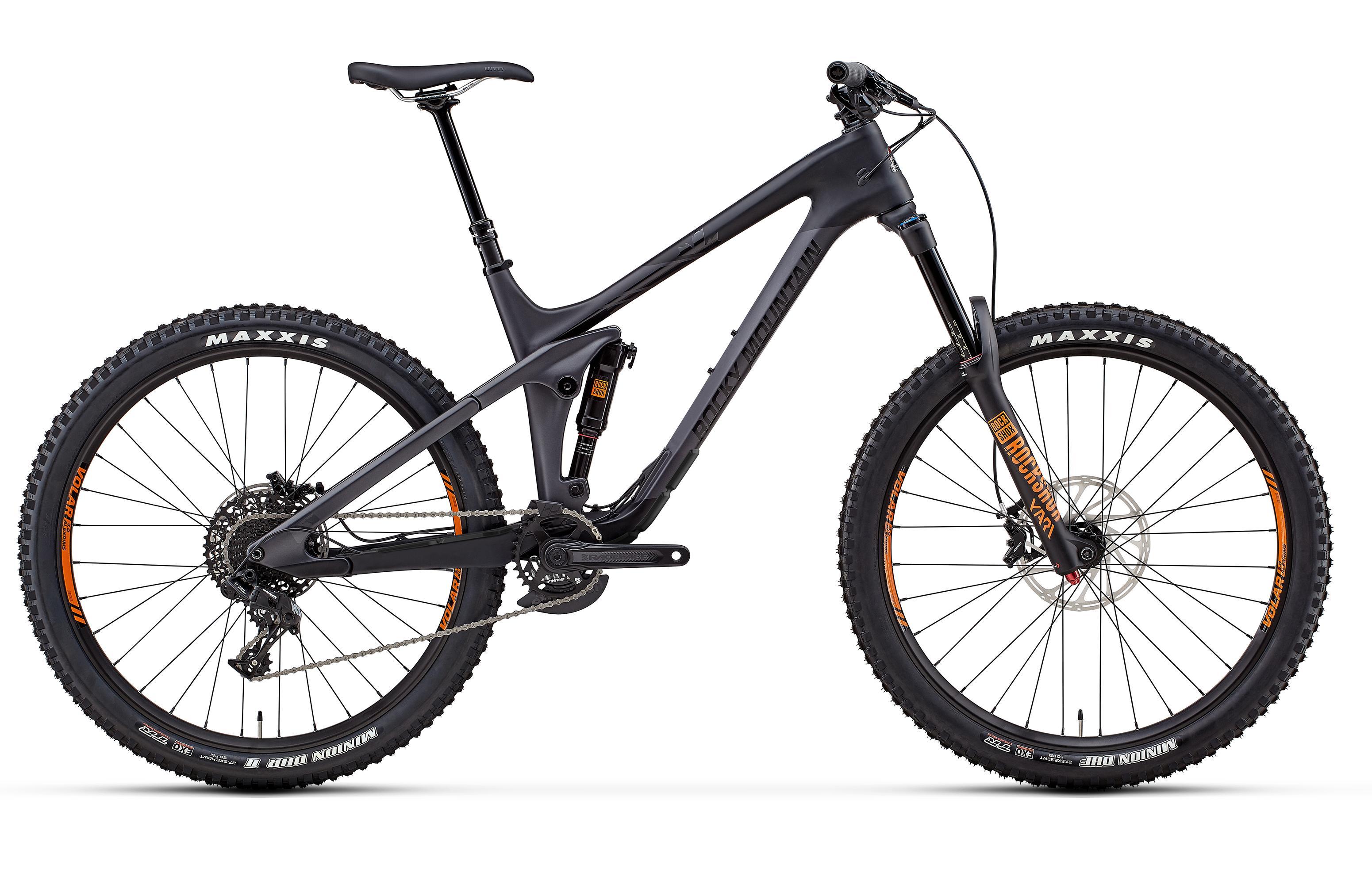 Велосипед Rocky Mountain Slayer Carbon 30 2018 Black/grey