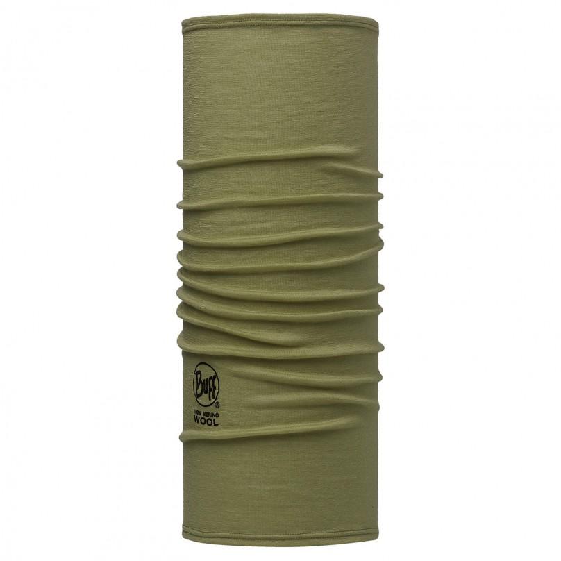 Купить Шарф BUFF Wool Plain SLIM FIT MERINO WOOL SOLID LIGHT MILITARY Банданы и шарфы Buff ® 1263404