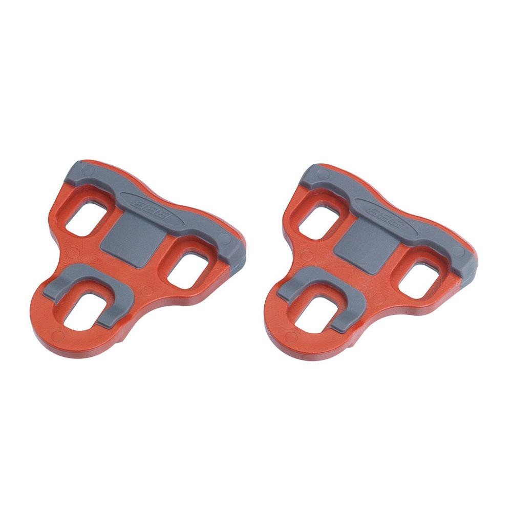 Купить Педали BBB shoecleats MultiClip Red 3 degree (Multi compatible), Педали, 655472