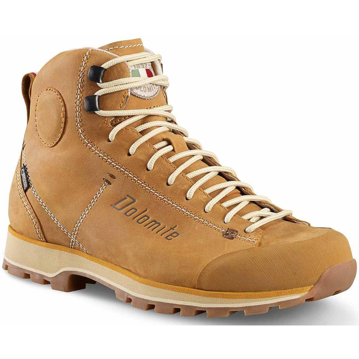 Купить Ботинки городские (высокие) Dolomite 2017-18 Cinquantaquattro High Fg Gtx Ocher, Обувь для города, 1199433