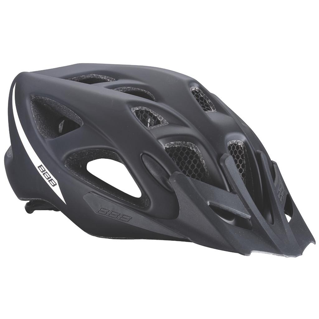 Летний Шлем Bbb 2015 Helmet Elbrus With Visor Matt Black