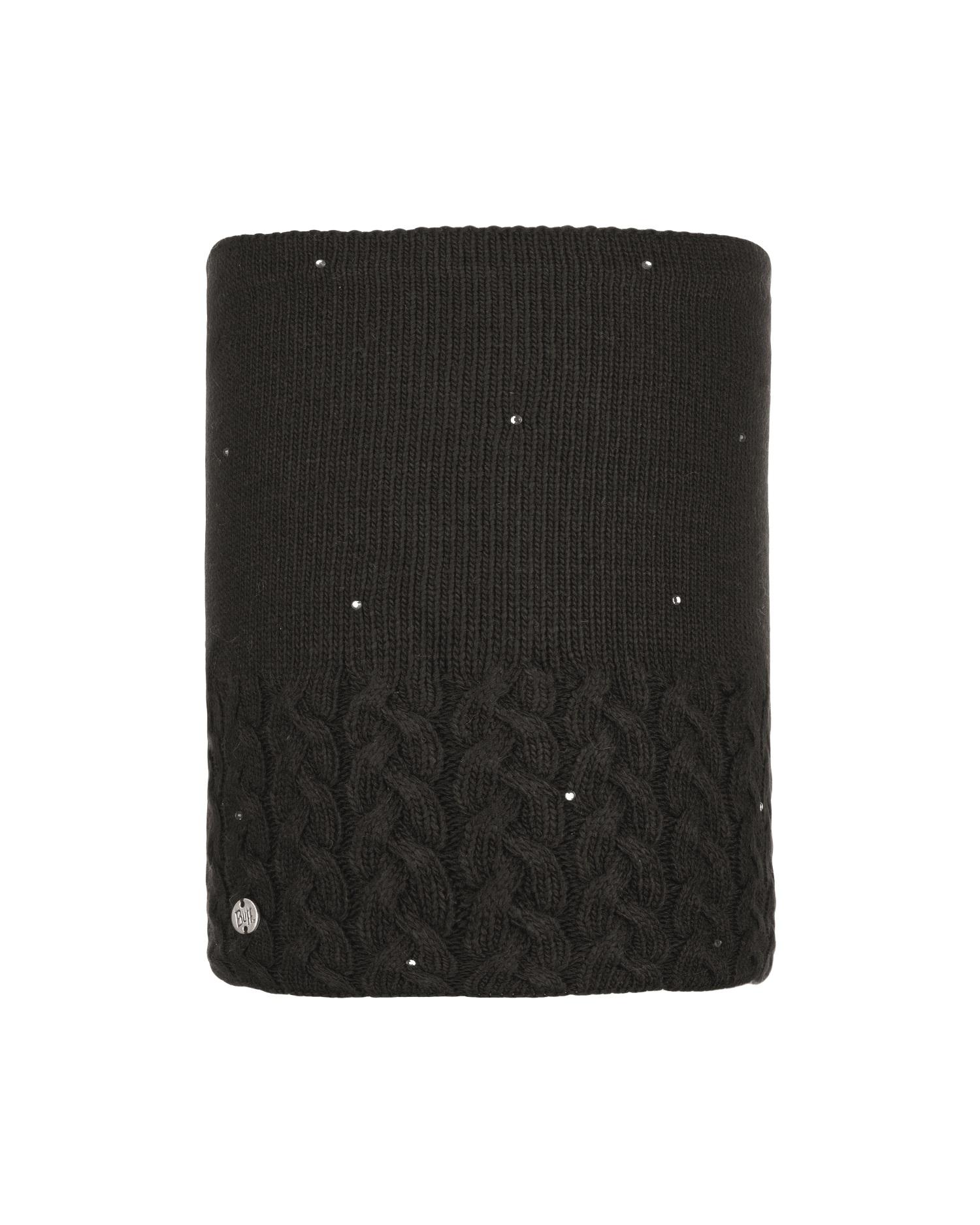 Шарф Buff Knitted & Polar Neckwarmer Elie Black