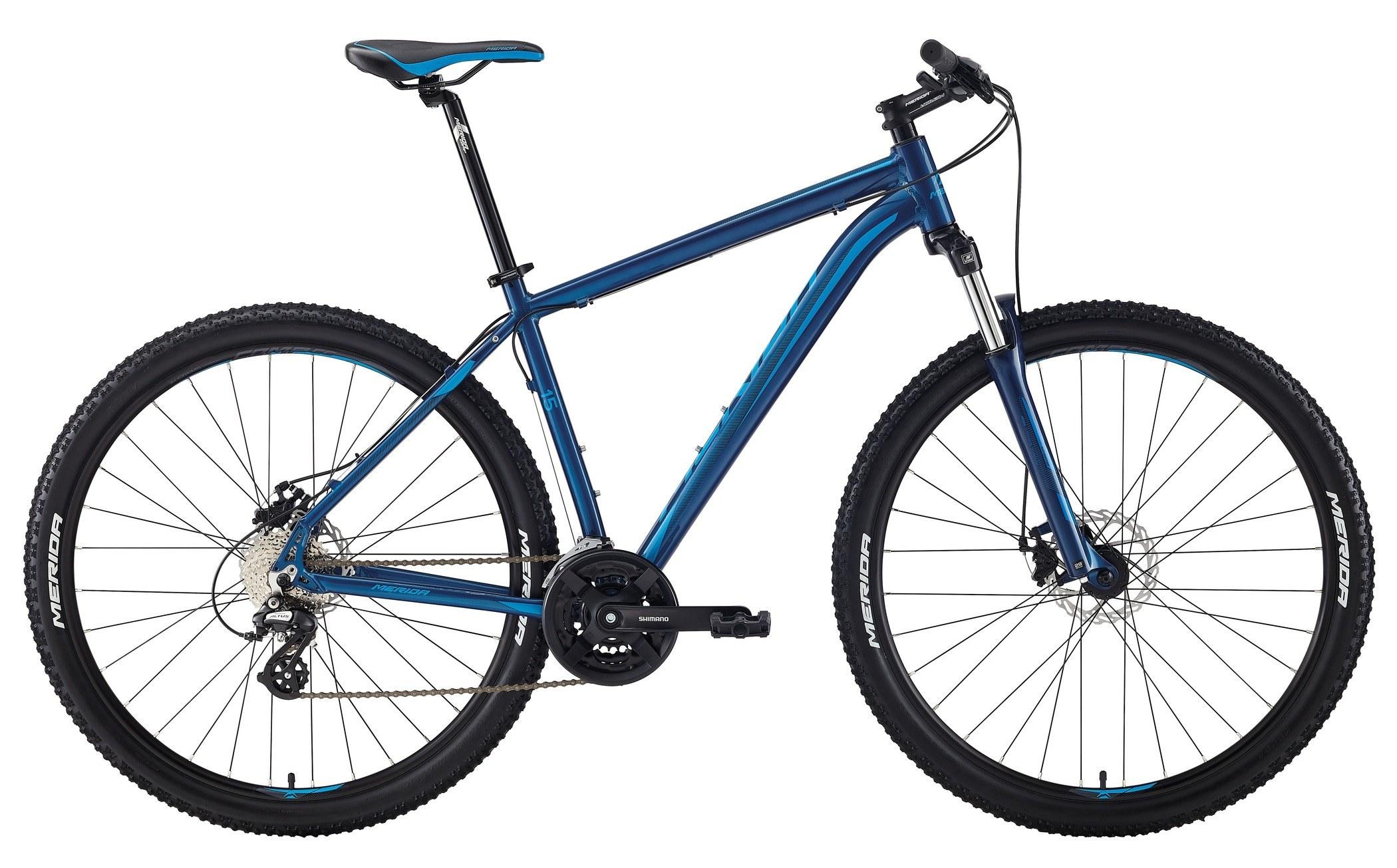 Велосипед Merida Big.nine 15-Md 2018 Dark Blue