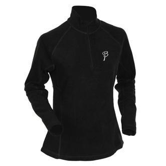 Купить Жакет беговой Bjorn Daehlie Half Zip MOTION Women Black/Ebony (черный) Одежда лыжная 775004