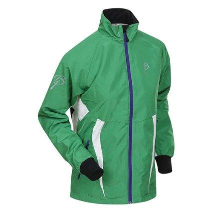 Купить Куртка беговая Bjorn Daehlie Jacket CHARGER Women Fern Green/Black (зеленый/черный) Одежда для бега и фитнеса 859214
