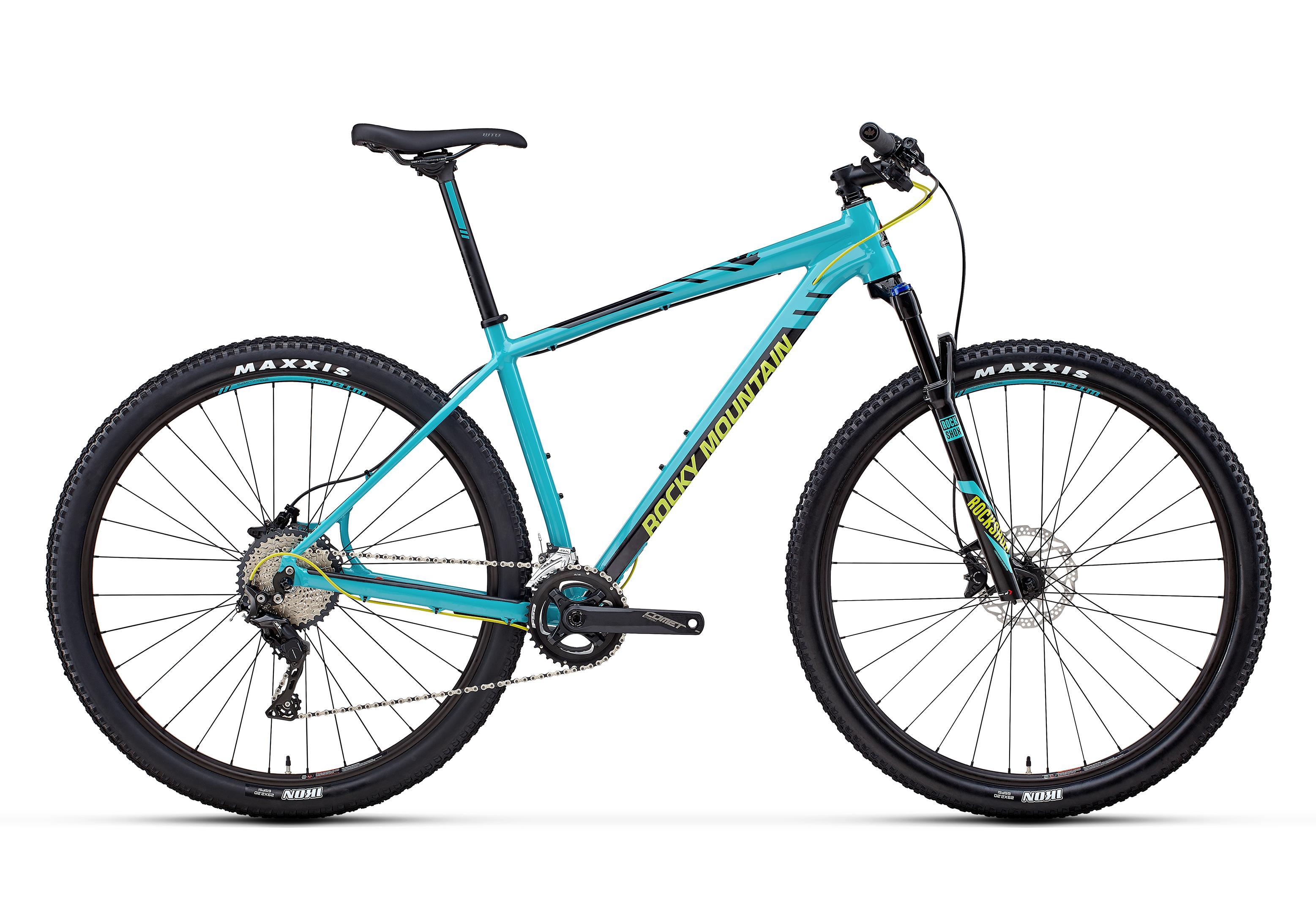 Велосипед Rocky Mountain Vertex Alloy 30 2018 Blue/black