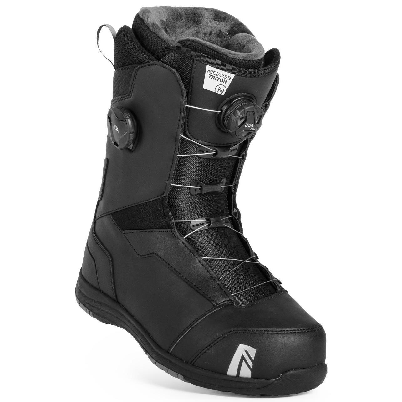 Ботинки для сноуборда NIDECKER 2018-19 Triton Boa Fcs Black - купить ... 911e6718347
