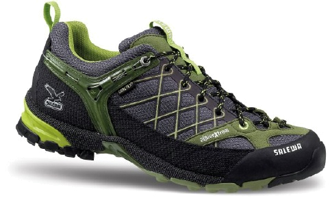 Треккинговые кроссовки Salewa Tech Approach MS FIRE TAIL GTX carbon-cactus