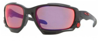 Очки солнцезащитные Oakley Jawbone POLISHED Black/OO Red Iridium Polarized/Persimmon
