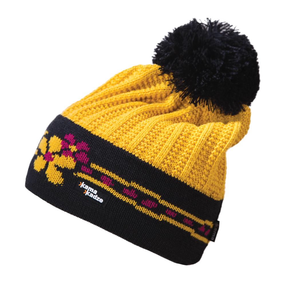 Шапка Kama 2017-18 K54 yellow, Головные уборы, шарфы, 1267647  - купить со скидкой