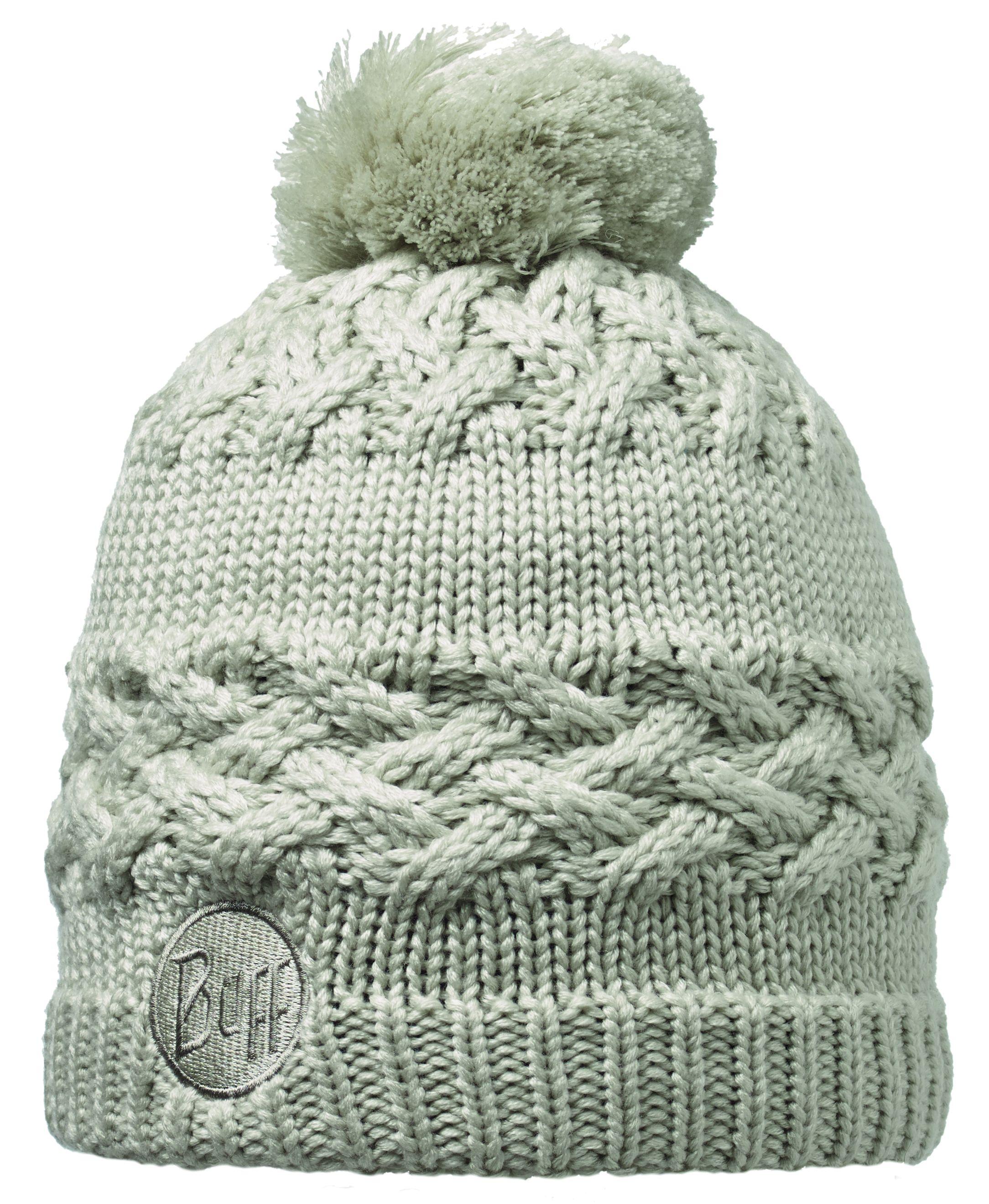 Шапка Buff Knitted & Polar Hat Buff Savva Cream от КАНТ