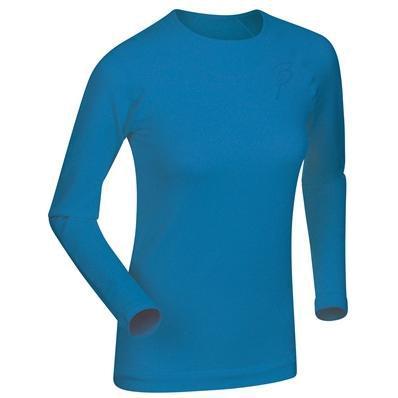Футболка С Длинным Рукавом Bjorn Daehlie Round Neck Regulator Women Methyl Blue (Синий)