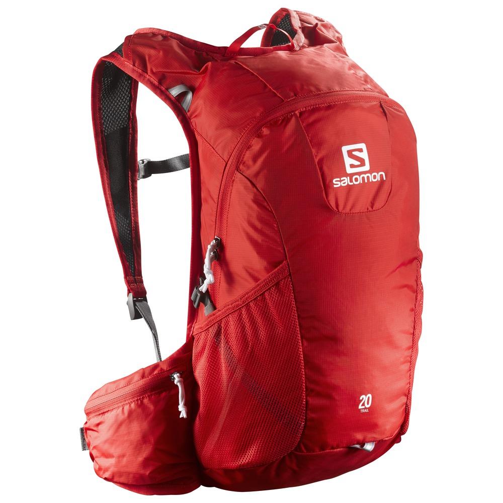 Купить Рюкзак SALOMON 2017 TRAIL 20 BRIGHT RED Рюкзаки универсальные 1326796