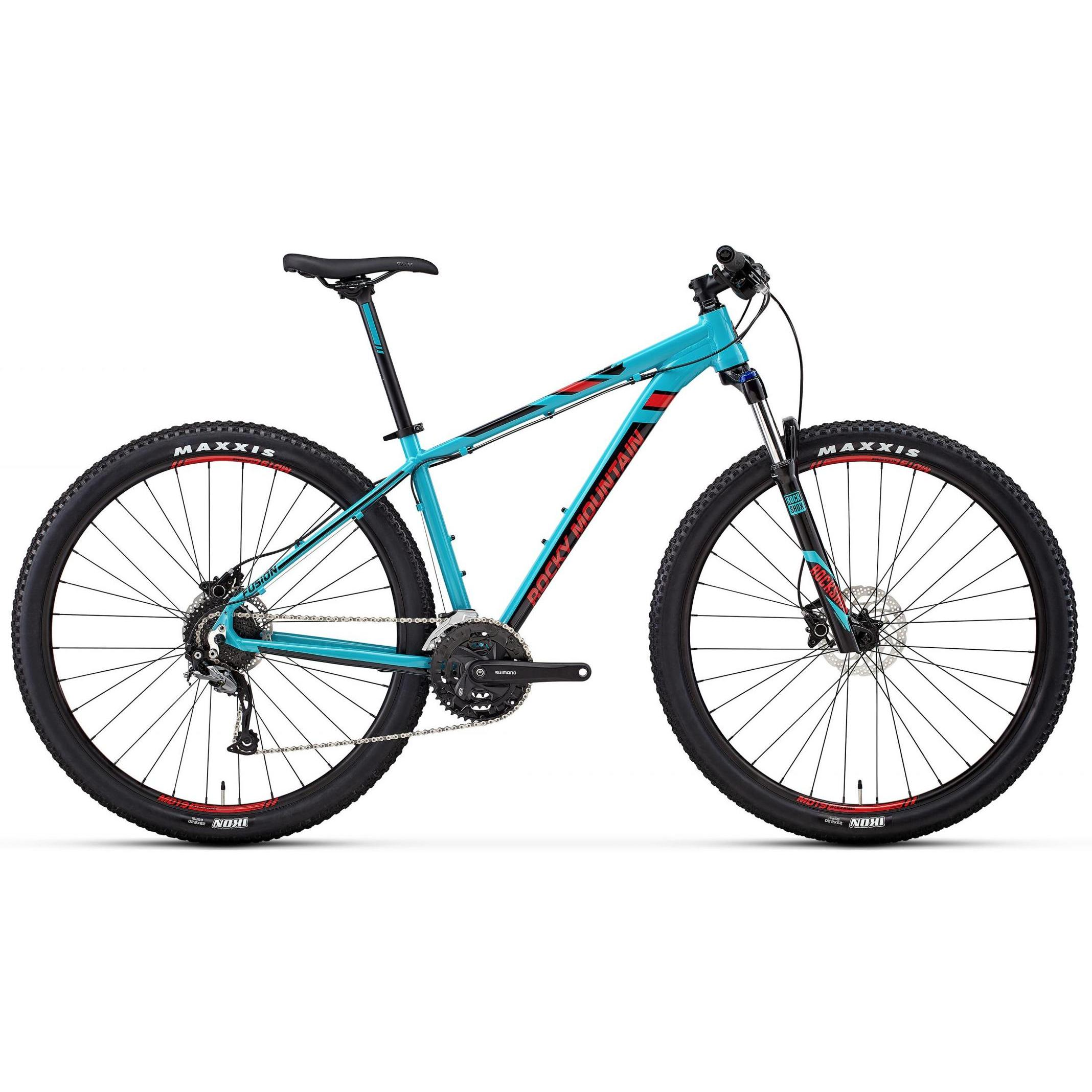 Велосипед Rocky Mountain Fusion 30 2018 Blue/red