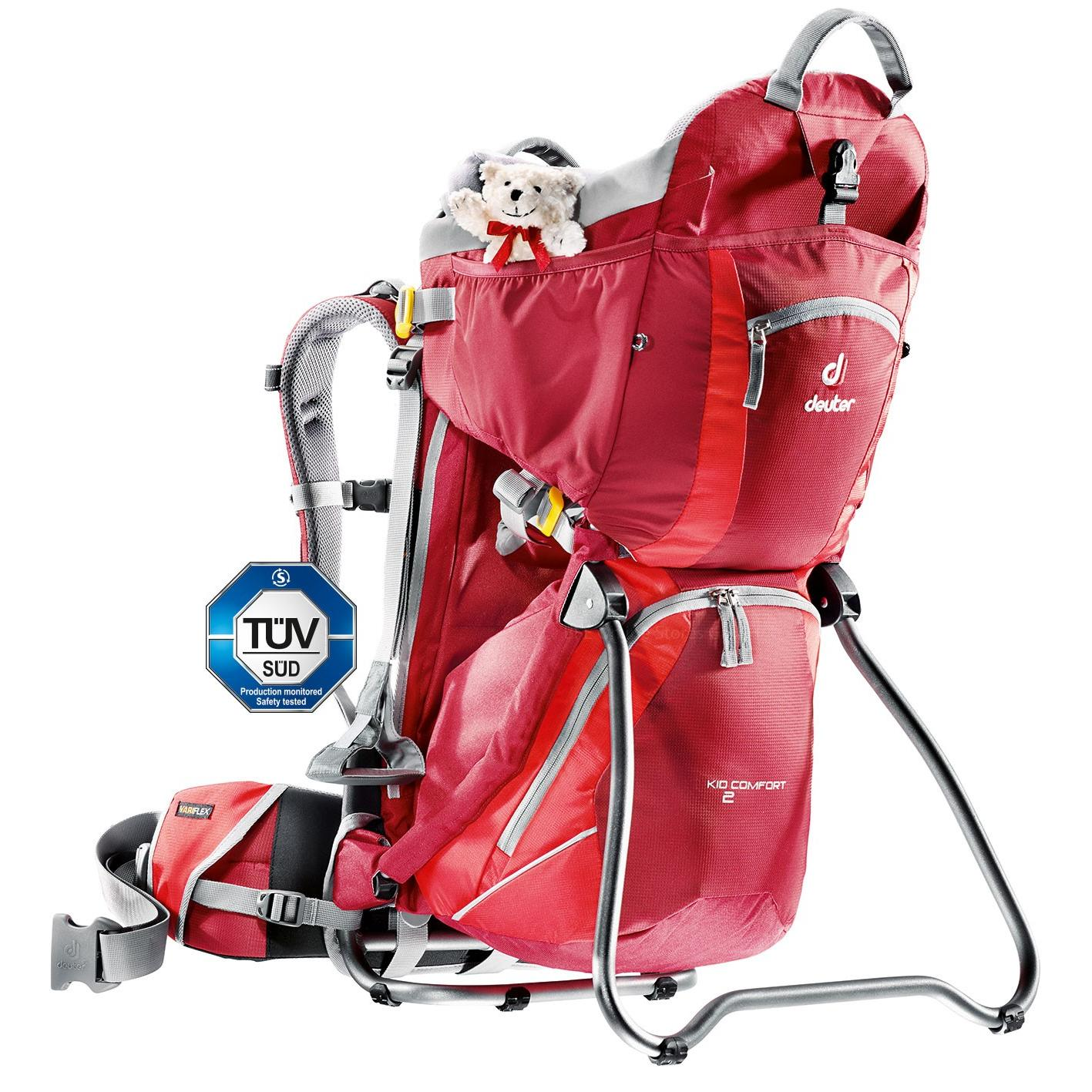ce849b7b8ff6 Детская Переноска Deuter 2018 Kid Comfort Ii Cranberry-Fire, Family Kid  Comfort Ii,