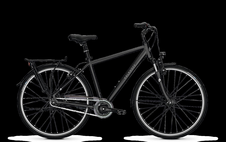 Велосипед Kalkhoff Agattu 8R Hs 2018 Diamondblackmatt