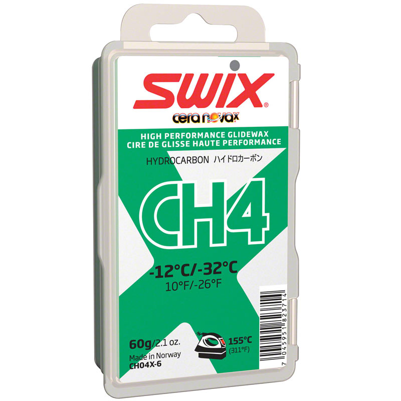 Мазь Скольжения Swix 2017-18 Ch4X Green -12C / -32C 60 Гр