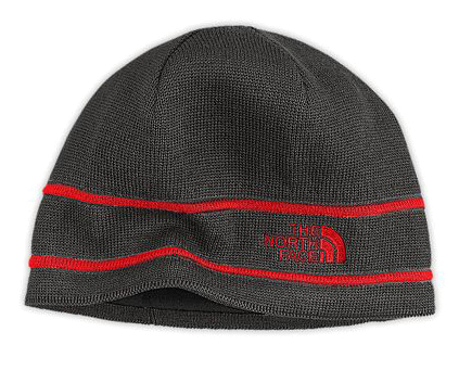 Шапка THE NORTH FACE 2012-13 THE NORTH FACE LOGO BEANIE (Graphite grey) серый